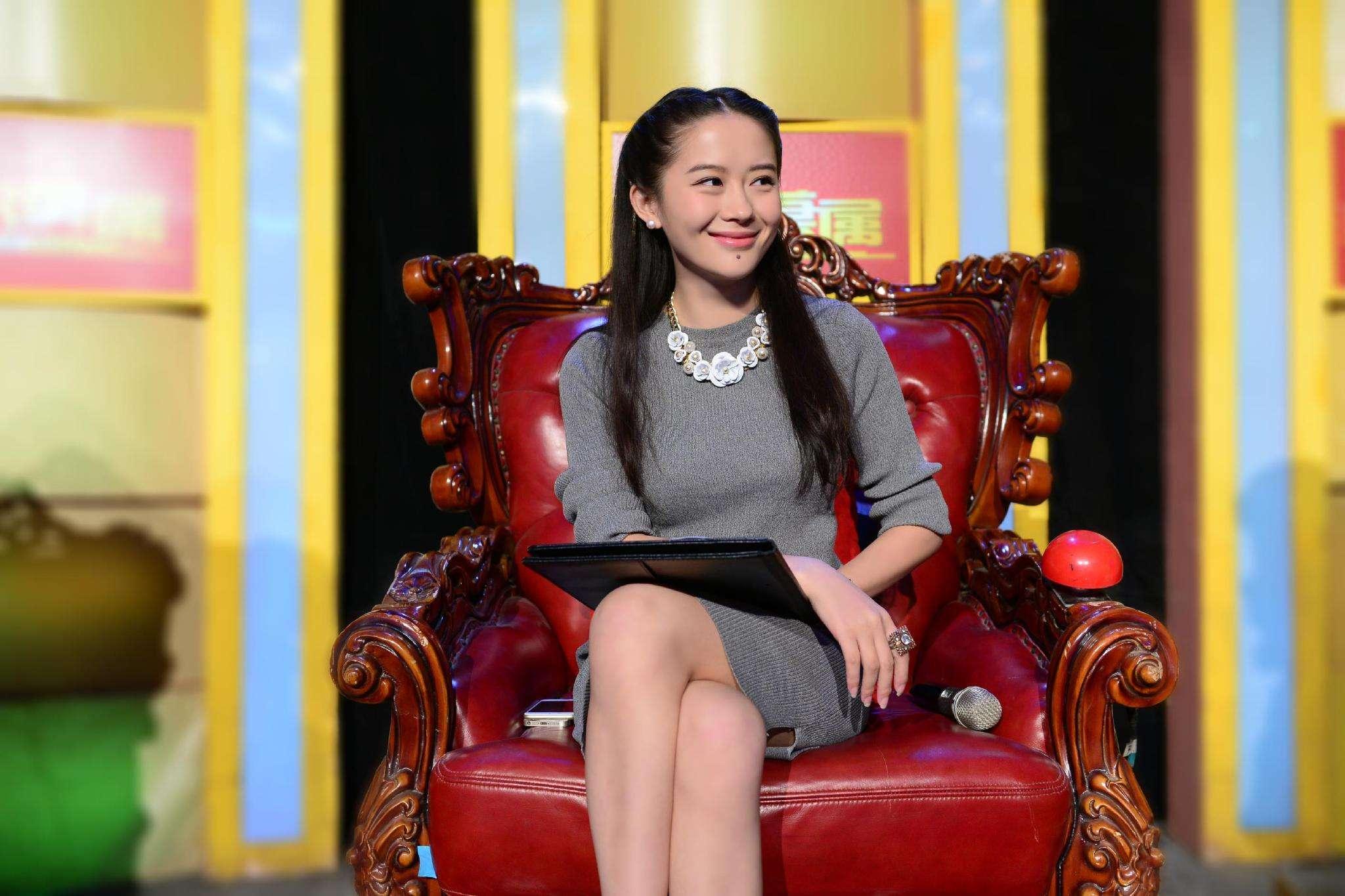 He Yi on TV