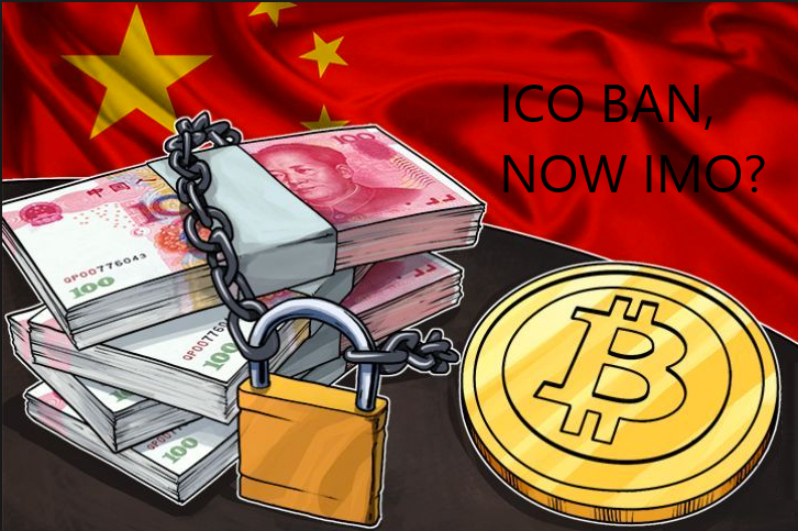 Disguised ICO? China's Regulatory Authority Warn About the Risk of IMO