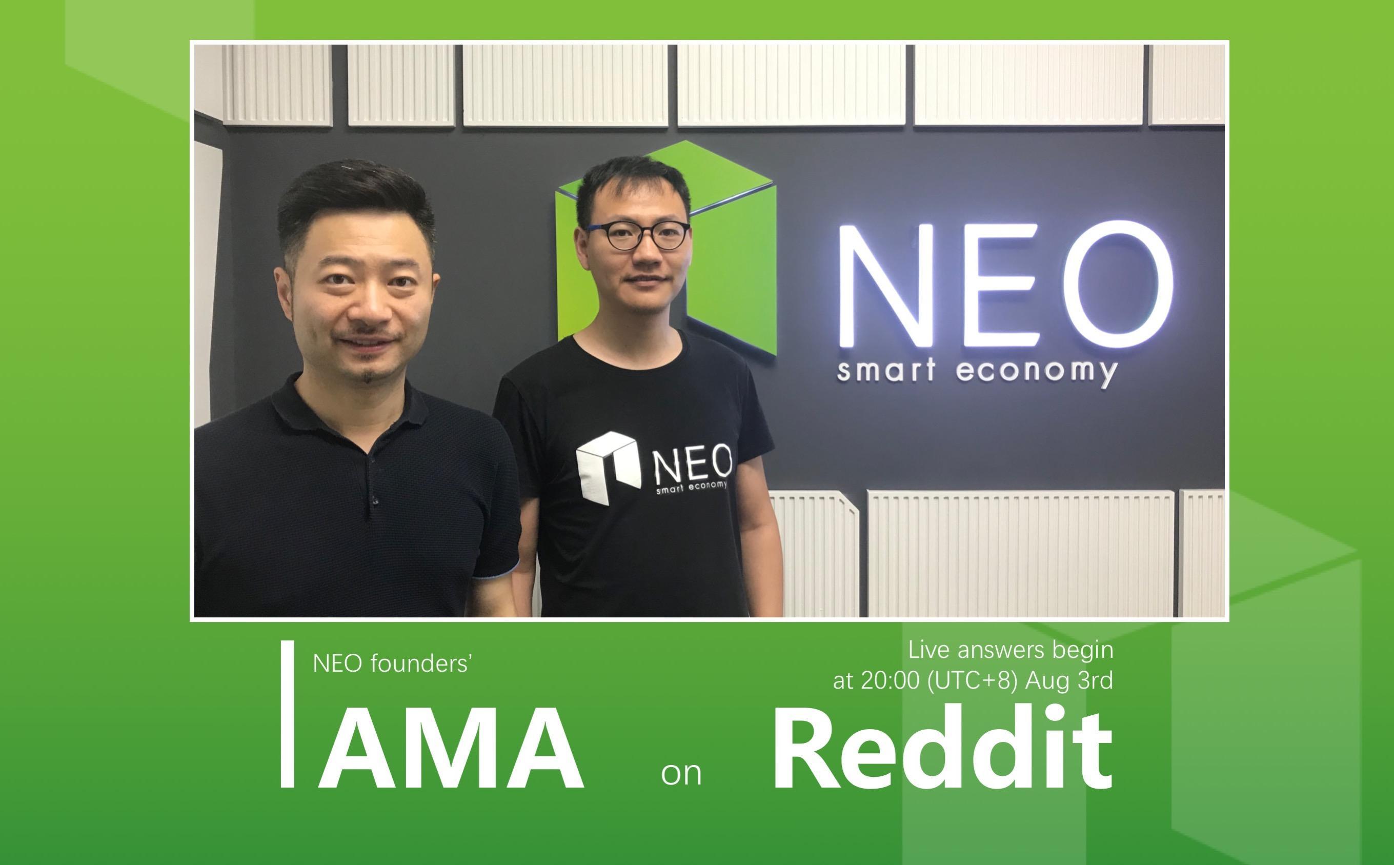 NEO founders (Reddit)