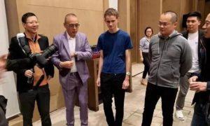 New Chinese Internet Tycoons Met with Vitalik in Blockchain Summit