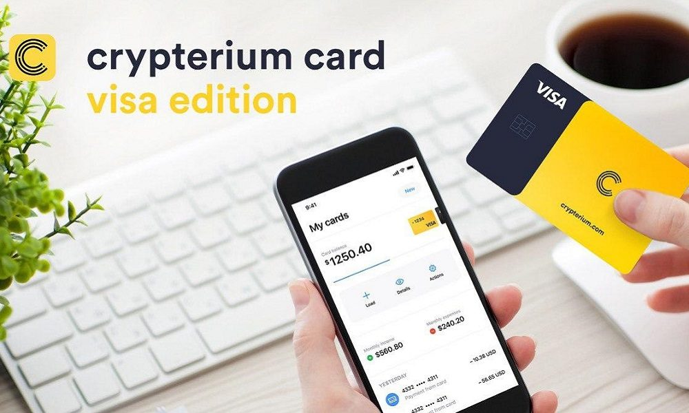 Crypterium Diversifies Its Card Offering With The New Crypterium Card VISA Edition