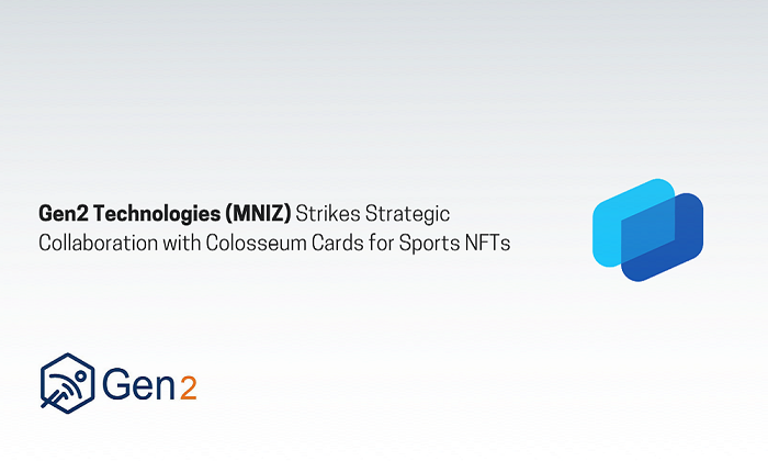 Gen2 Technologies (MNIZ) Strikes Strategic Collaboration with Colosseum Cards for Sports NFTs