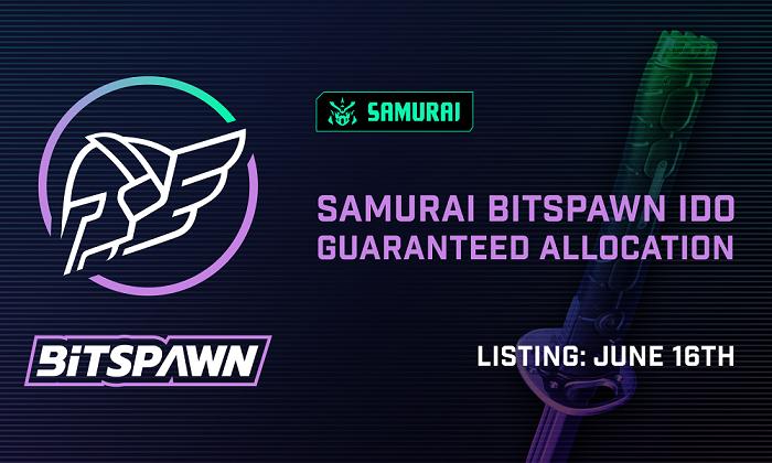 Bitspawn Whitelist open — eSports Tournament Revolution. IDO on Samurai.