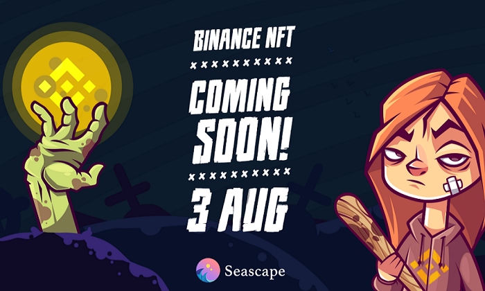 Seascape Network Releases New Mystery Box NFTs with Binance!