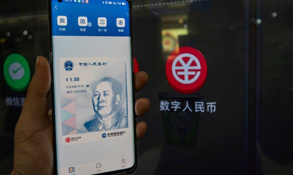 Digital Yuan for Immediate Domestic Use, Cross-Border Later